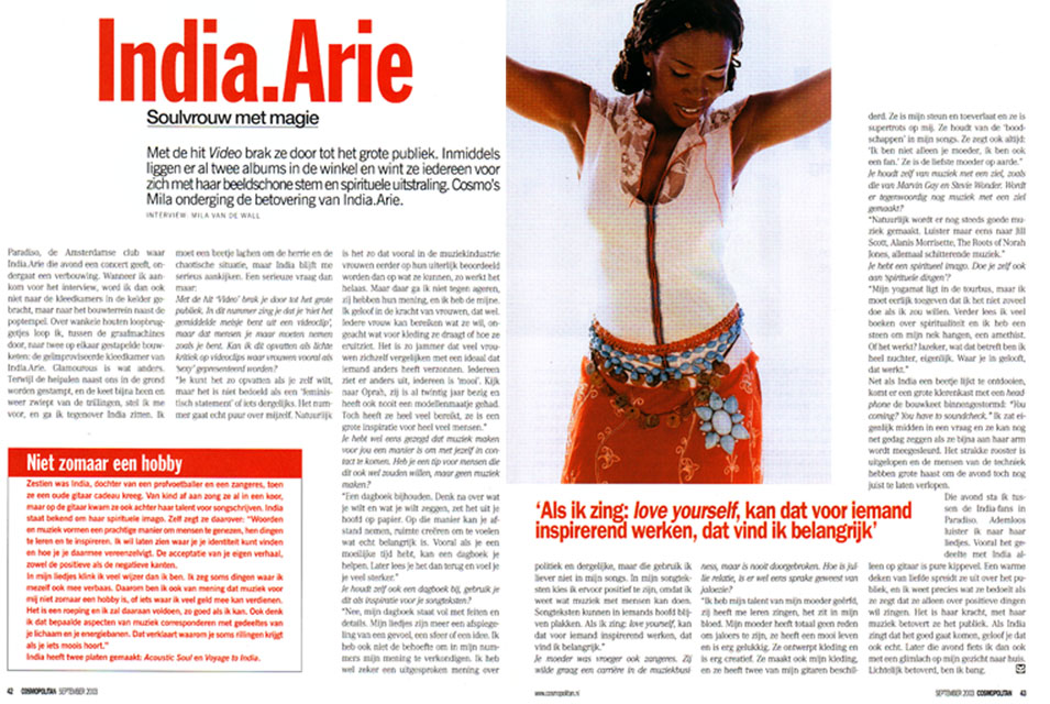 Interview India.Arie